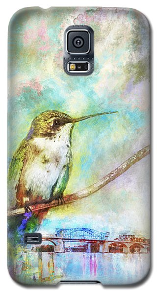 Hummingbird By The Chattanooga Riverfront Galaxy S5 Case by Steven Llorca
