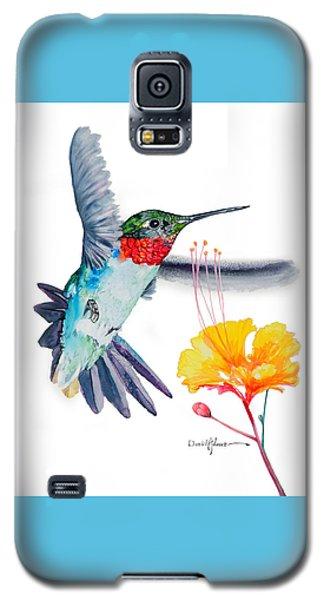 Da169 Hummingbird Flittering Daniel Adams Galaxy S5 Case