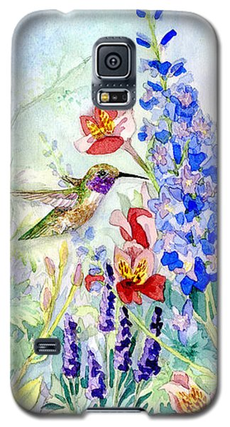 Hummingbird Garden In Spring Galaxy S5 Case