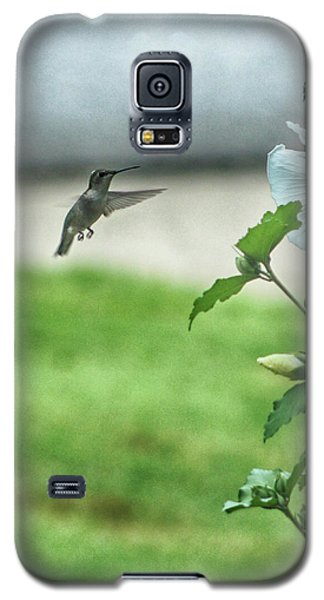 Galaxy S5 Case featuring the photograph Hummingbird In Flight by Yvonne Emerson AKA RavenSoul