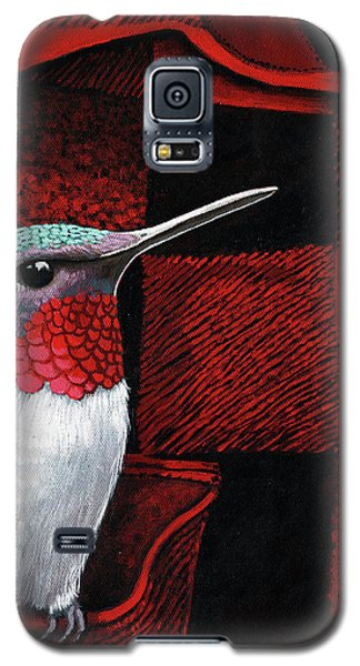 Hummingbird Memories Galaxy S5 Case by Linda Apple