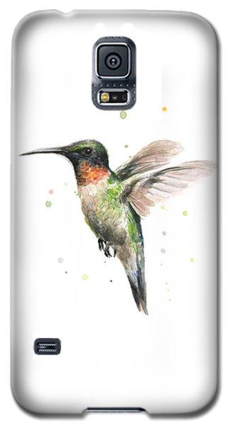 Animal Galaxy S5 Case - Hummingbird by Olga Shvartsur
