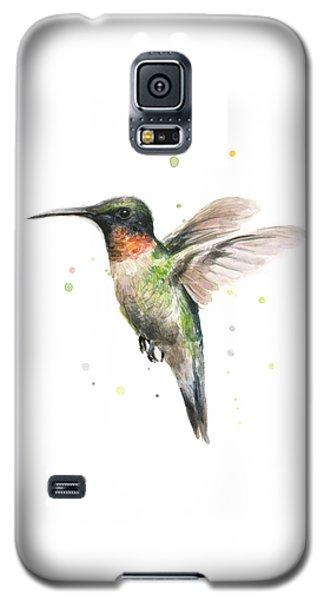 Hummingbird Galaxy S5 Case by Olga Shvartsur