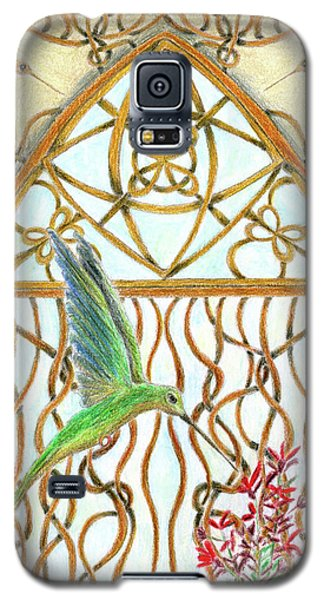 Hummingbird Sanctuary Galaxy S5 Case