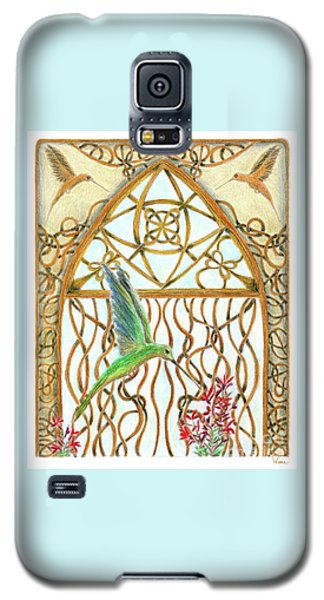 Hummingbird Sanctuary Galaxy S5 Case