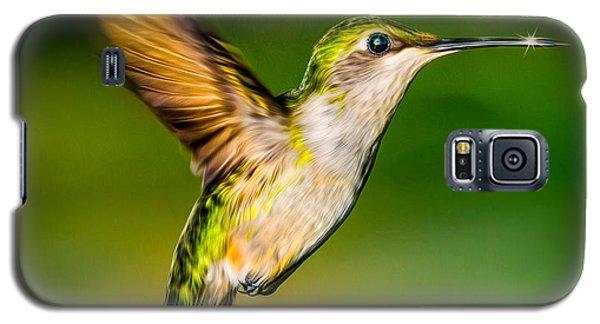 Hummingbird Sparkle Galaxy S5 Case