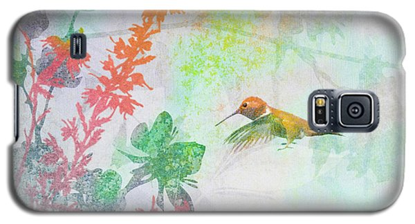 Galaxy S5 Case featuring the digital art Hummingbird Summer by Christina Lihani