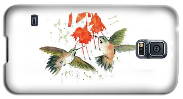 Hummingbird Watercolor Galaxy S5 Case