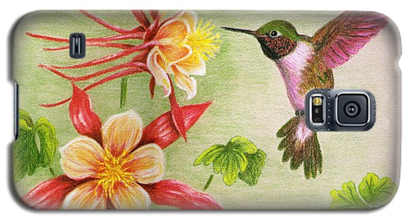 Hummingbird's Delight Galaxy S5 Case by Judy Filarecki