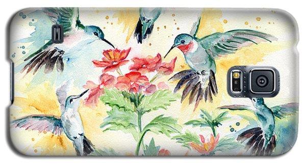 Hummingbirds Party Galaxy S5 Case