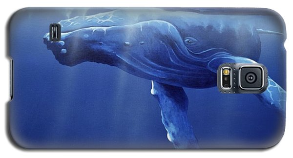 Humpback Portrait Galaxy S5 Case