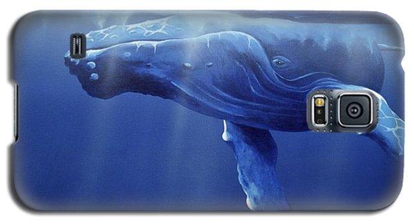 Humpback Portrait Galaxy S5 Case