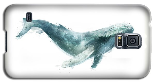 Whale Galaxy S5 Case - Humpback Whale From Whales Chart by Amy Hamilton