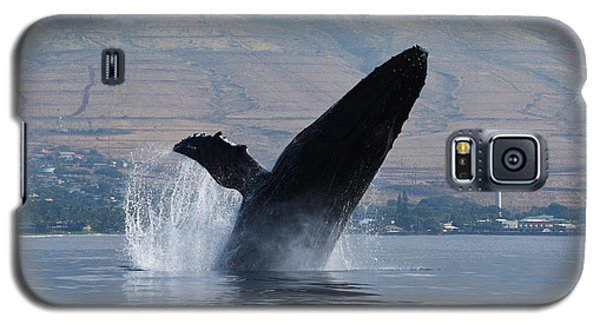 Humpback Whale Breach Galaxy S5 Case