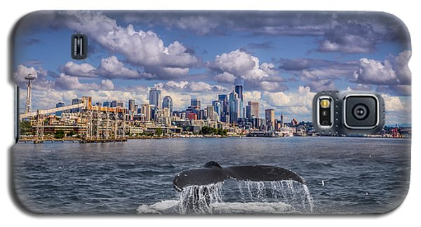 Humpback Whale-seattle Galaxy S5 Case