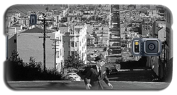 Humphrey Bogart Film Noir Dark Passage Telegraph Hill And Coit Tower San Francisco 1947 Galaxy S5 Case