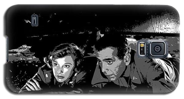 Humphrey Bogart June Allyson Galaxy S5 Case by Charles Shoup