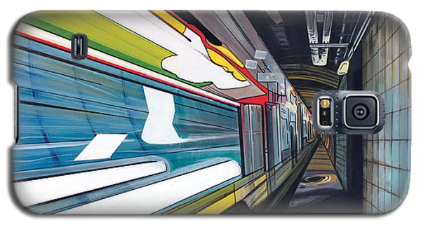 Galaxy S5 Case featuring the painting Humphrey Terminal by Jude Labuszewski