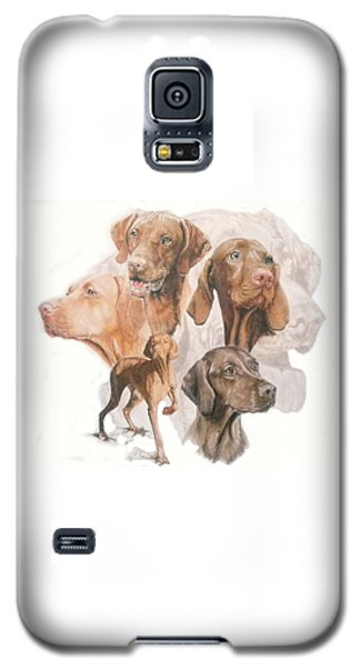 Hungarian Vizsla W/ghost Galaxy S5 Case