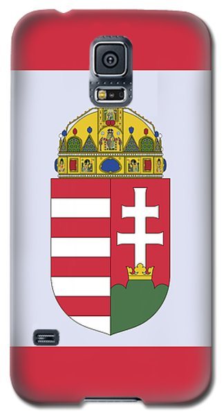 Hungary Coat Of Arms Galaxy S5 Case by Movie Poster Prints