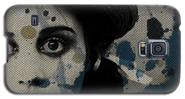 Galaxy S5 Case featuring the mixed media Hungry Eyes by Paul Lovering