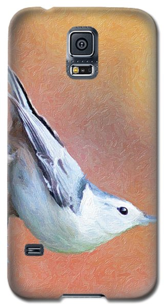 Hungry Nuthatch Galaxy S5 Case