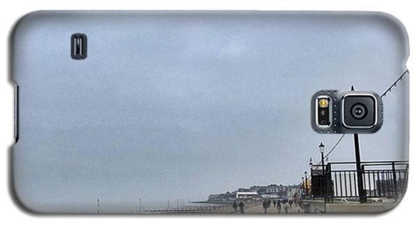 Instagood Galaxy S5 Case - Hunstanton At 4pm Yesterday As The by John Edwards