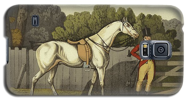 White Horse Galaxy S5 Case - Hunter by Henry Thomas Alken