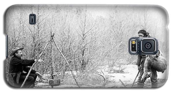 Hunting Camp Winter 1887-88 -- South Dakota Galaxy S5 Case