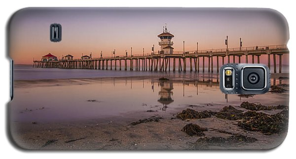 Galaxy S5 Case featuring the photograph Huntington Beach Pier by Sean Foster