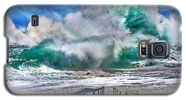 Hurricane Storm Waves Galaxy S5 Case