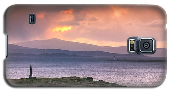 Hutcheson's Monument On The Isle Of Kerrera At Sunset Galaxy S5 Case