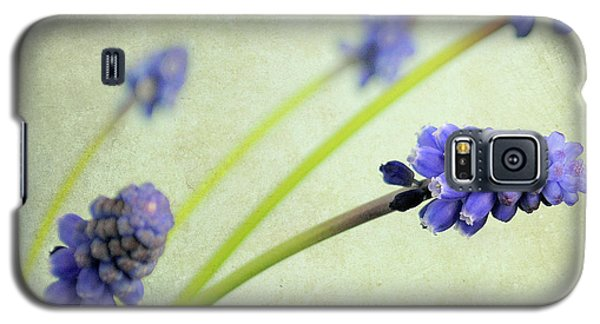 Galaxy S5 Case featuring the photograph Hyacinth Grape by Lyn Randle