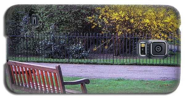 Hyde Park Bench - London Galaxy S5 Case