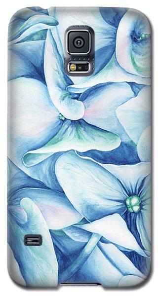 Hydrangea Galaxy S5 Case