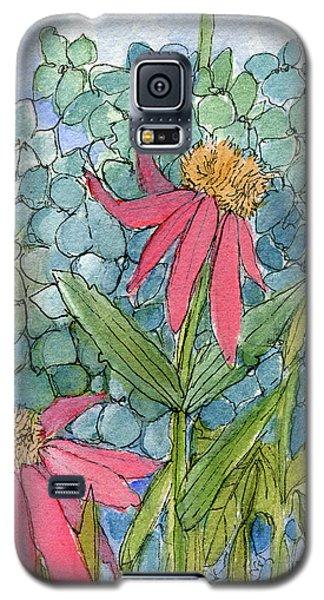 Hydrangea With Bee Galaxy S5 Case