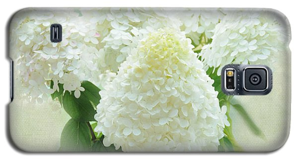 Galaxy S5 Case featuring the photograph Hydrangeas by Geraldine Alexander