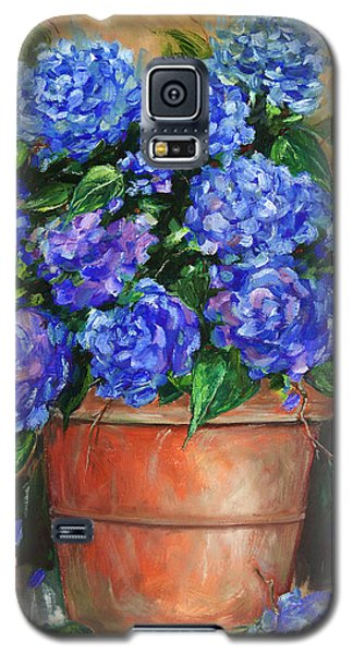 Hydrangeas In Pot Galaxy S5 Case