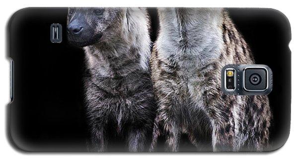 Griffon Galaxy S5 Case - Hyena Lookout by Martin Newman