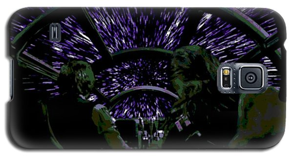 Hyper Space Galaxy S5 Case by George Pedro