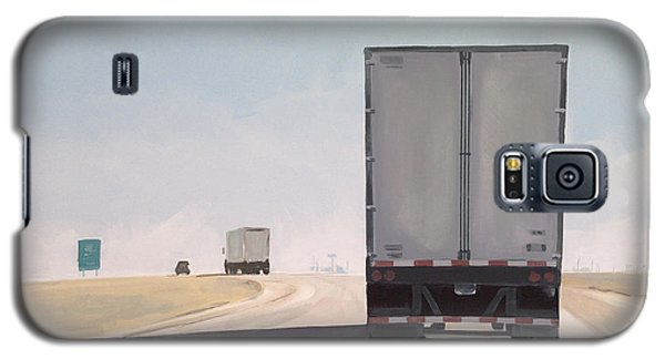 Truck Galaxy S5 Case - I-55 North 9am by Jeffrey Bess