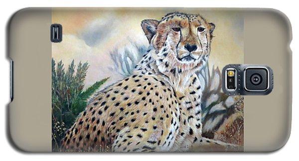 I Am Cheetah 2 Galaxy S5 Case by Marilyn  McNish