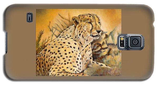 I Am Cheetah Galaxy S5 Case by Marilyn  McNish