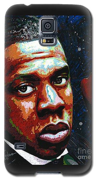 I Am Jay Z Galaxy S5 Case by Maria Arango