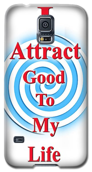 I Attract Red White Blue Galaxy S5 Case