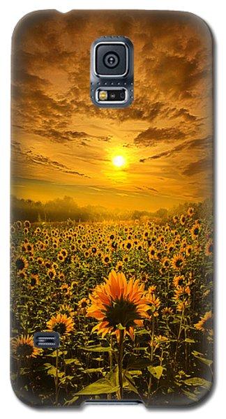 I Believe In New Beginnings Galaxy S5 Case