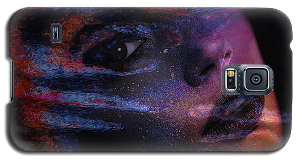 Galaxy S5 Case featuring the digital art I Breathe Art Therefore I Am Art by ISAW Company