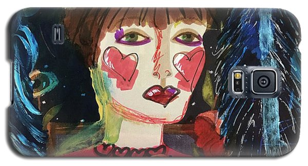 I Carry Your Heart In My Heart Galaxy S5 Case by Kim Nelson