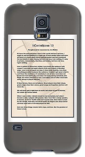 I Corinthians 13 Paraphrase Galaxy S5 Case