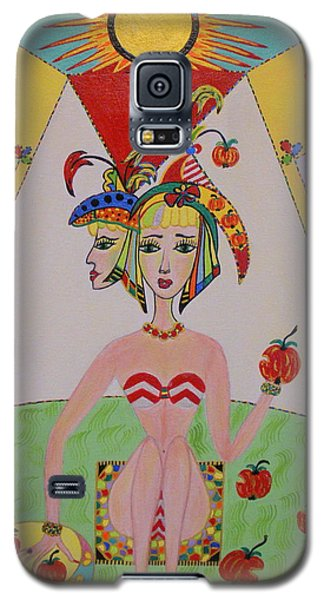 I Don't Like This Apple Galaxy S5 Case by Marie Schwarzer